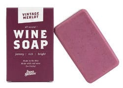 gifts for wine lovers - wine soap