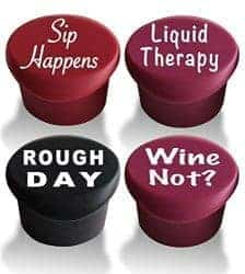 gifts for wine lovers - wine stopping sign
