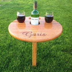gifts for wine lovers - wine table