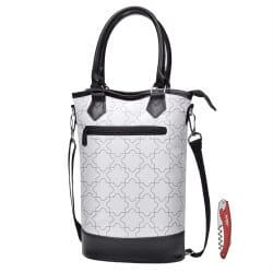 gifts for wine lovers - wine tote bag
