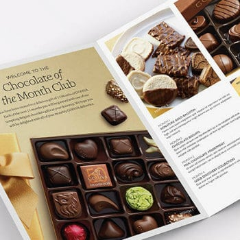 chocolate of the month club - godiva