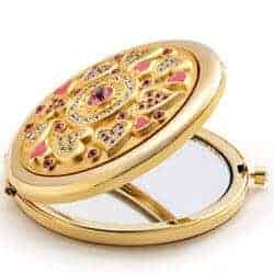 valentine's day gifts for girlfriend - compact purse mirror