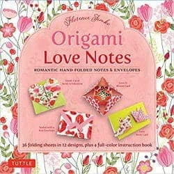 valentine's day gifts for girlfriend - origami love notes