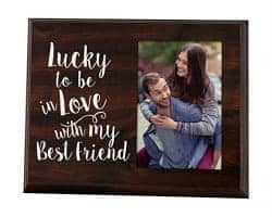 valentine's day gifts for girlfriend - picture frame