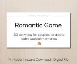 valentine's day gifts for girlfriend - romantiic game