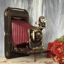 101 Birthday Gifts for Girlfriend - Antique Kodak 3A Folding Camera