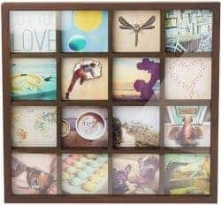 101 Birthday Gifts for Girlfriend - DIY Gallery Style Multi Picture Photo Collage Frame