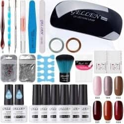 101 Birthday Gifts for Girlfriend - Gellen Gel Nail Polish Starter Kit