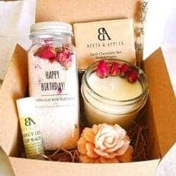 101 Birthday Gifts for Girlfriend - Happy Birthday Gift Basket by Beets & Apples