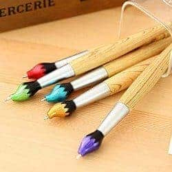 13. Bamboo Brush Style Shape Pen
