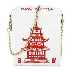 17. Chinese Takeout Box Clutch Bag