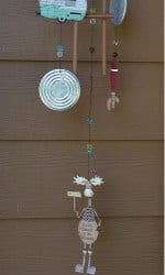 2. Trailer Park Moose Wind Chime