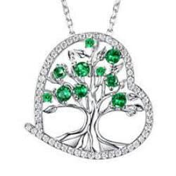 34 the tree of life necklace