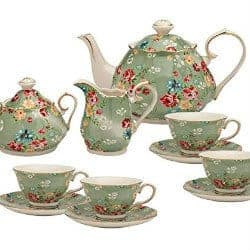 35. 11 Piece Tea Set