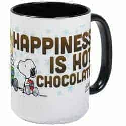 37. Peanuts Hot Chocolate Mugs