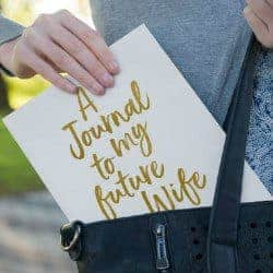 48. Personalized Journal to my Future Wife