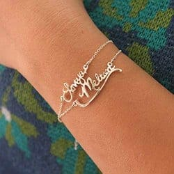 65. Handwriting Bracelet