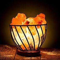 68. Hand Carved Natural Himalayan Salt Rocks Lamp