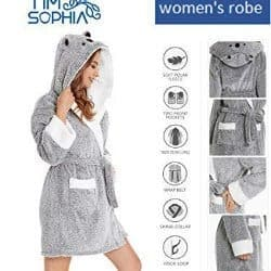 8. Bathrobe with Hood