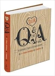 Gifts For Girlfriend - Our Q&A A Day 3-Year Journal For 2 People