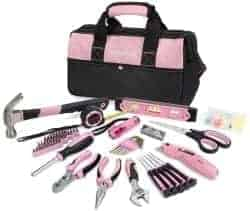 Gifts For Girlfriend - WORKPRO Pink Tool Kit