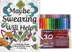 romantic gifts for girlfriend - adult coloring book