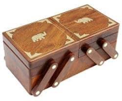 romantic gifts for girlfriend - handmade jewelry box