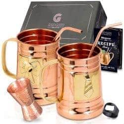 mule copper mugs