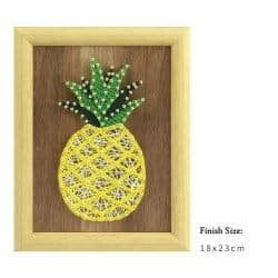 romantic gifts for girlfriend - pineapple string art