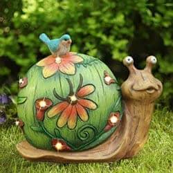 snail figurine