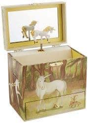romantic gifts for girlfriend - unicorn jewelry box