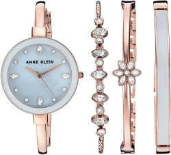 romantic gifts for girlfriend - watch and bracelet set