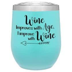 wine thumbler