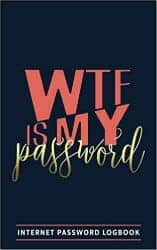 romantic gifts for girlfriend - wtf is my password