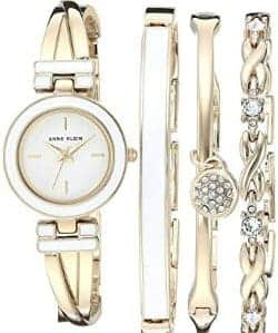10. Anne Klein Women's Bangle Watch