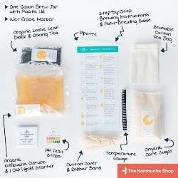 18. Kombucha Tea Home Brew Starter Kit (1)