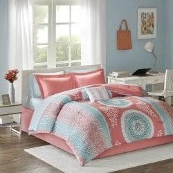 21. Loretta Comforter Set Queen Size Bed in A Bag