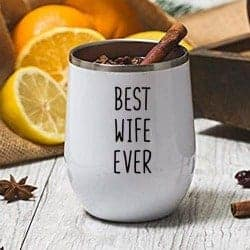 3. Best Wife Ever - Stainless Steel Tumbler