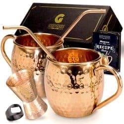 45. Mule Copper Mugs