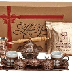 53. Turkish Greek Arabic Coffee Making Serving Gift Set