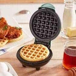 55. Mini Waffle Maker Machine