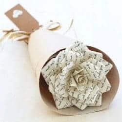 67. Paper Rose