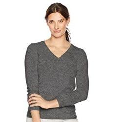 9. Women's V-Neck Pullover