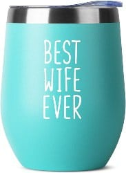 Best Wife Ever - Stainless Steel Tumbler (1)
