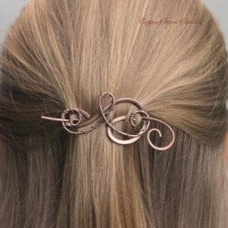 Gift Ideas for Wife - Copper Hair Pin