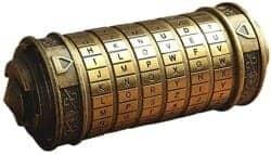Gift Ideas for Wife - Da Vinci Code Mini Cryptex