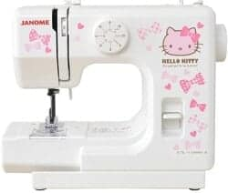 Gift Ideas for Wife - Janome Hello Kitty Compact White Sewing Machine KT-W