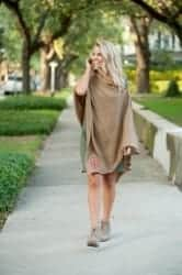 Gift Ideas for Wife - Monogrammed Poncho