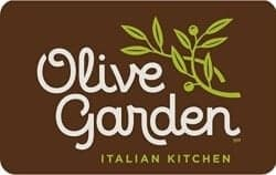Gift Ideas for Wife - Olive Garden Gift Card