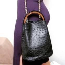 Gift Ideas for Wife - Ostrich Leather Bag